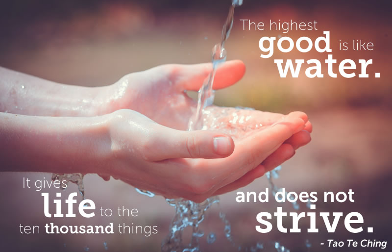 the highest good is like water